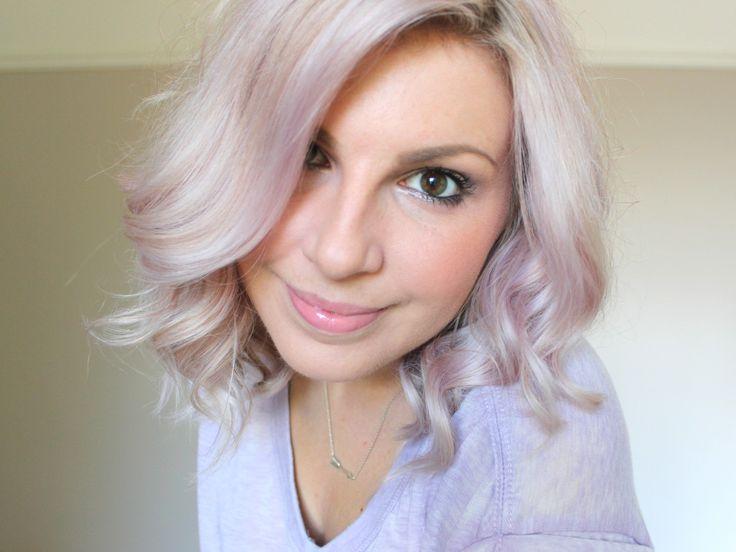 Purple Lavender Hair Tint Using ONLY TONER!