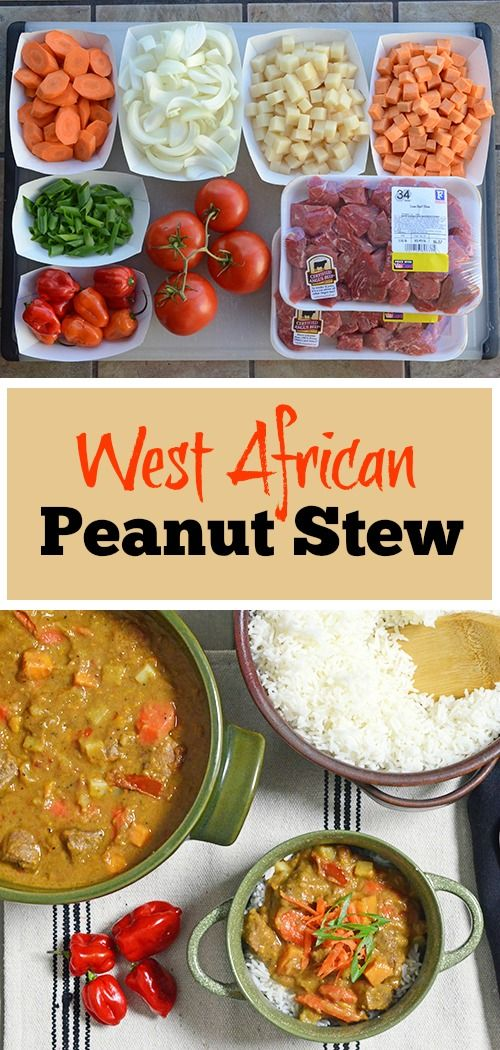 west africa angus beef spicy peanut sauce nigerian food african ...