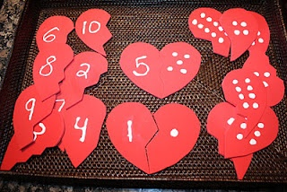 Tot Tray - Valentine's Day activities