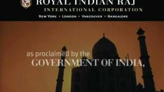 Royal Indian Raj International - YouTube