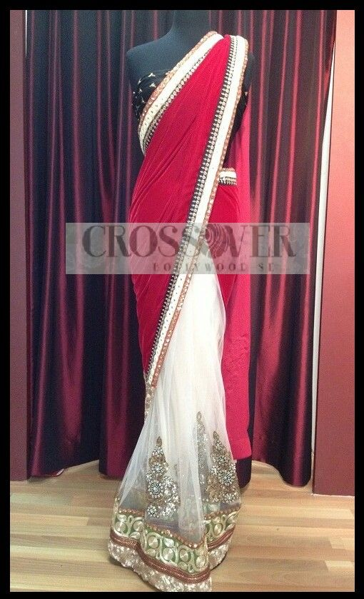 hot pink and white look good! this almost looks like a lengha