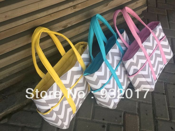 2014 new chevron diaper bags Chevron Diaper Bag Tote Nappy Bag Extra Large Gray and Aqua Grey,gray and pink,gray and blue $16.00