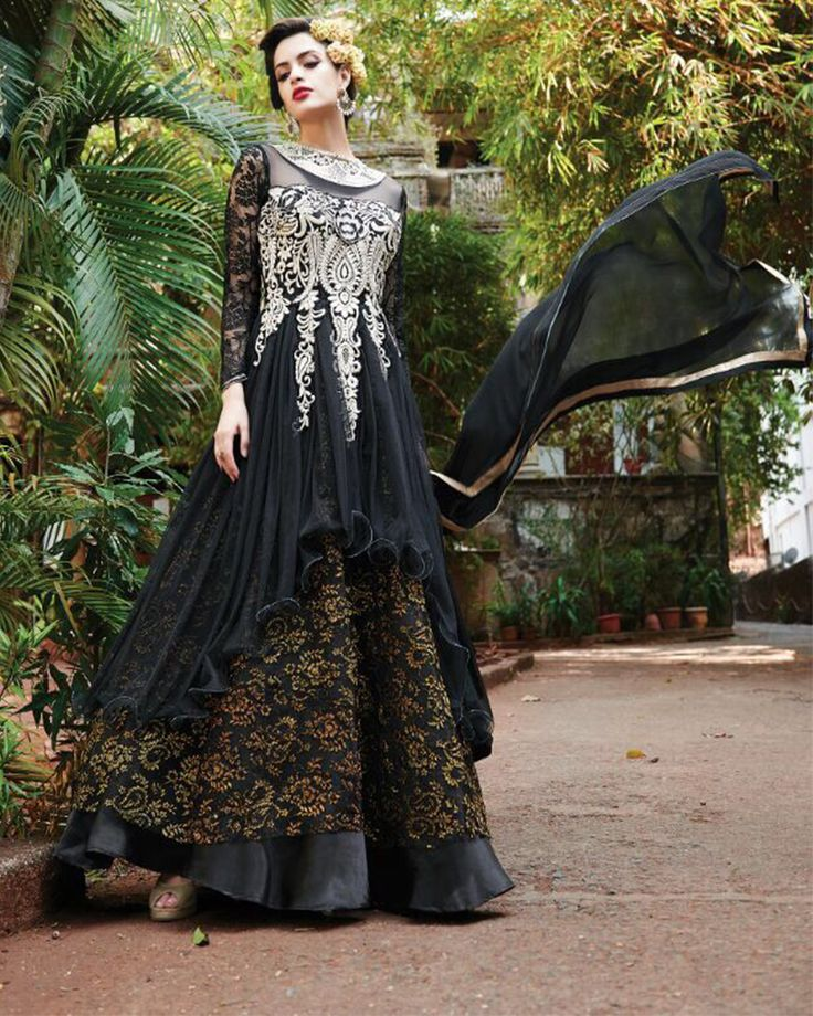 """""""Designer Ethnic Gown"""" Awesome story by @TypifyF #fashion"""