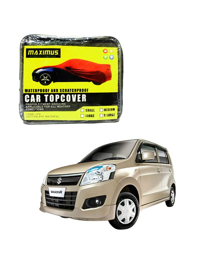 Suzuki Wagon R Maximus Non Woven Car Cover – Model 2014-2017  Delivery available worldwide.  Have a Question: +923111222357