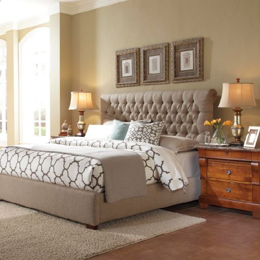 Discover the softer side of Kincaid Furniture with our beautiful, upholstered headboards. http://kincaidfurniture.com/