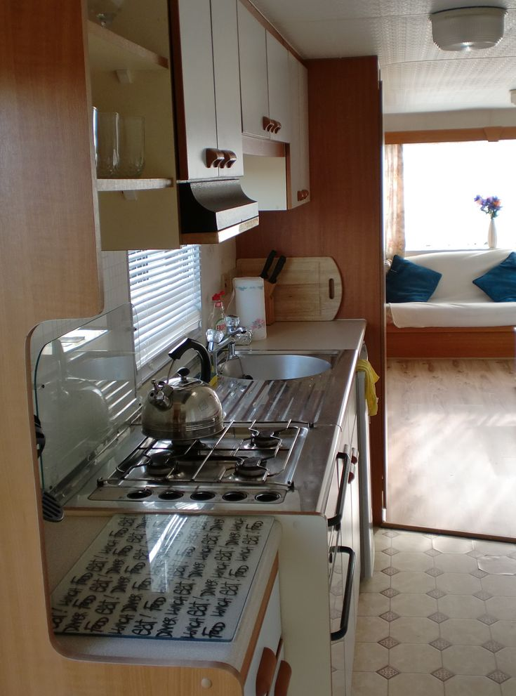 Strangford Holiday Park / static caravan interior