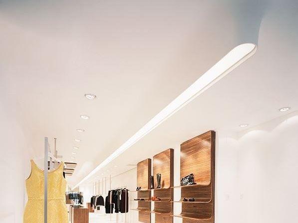 Profilo per illuminazione da soffitto modulare USP 06 18 31 Collezione Linear by FLOS
