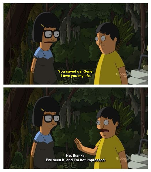 28 Of The Wisest Lessons Gene Belcher Has Ever Taught The World