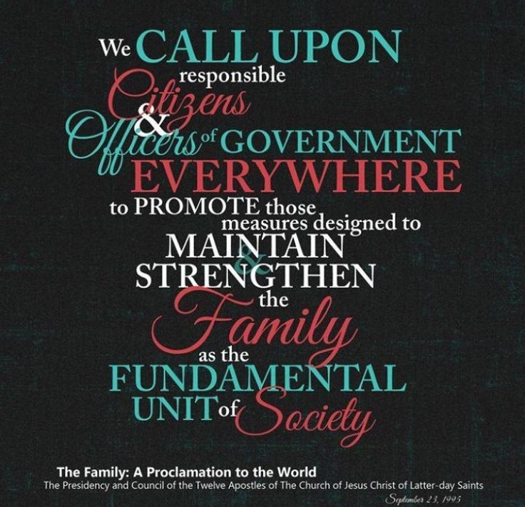 lds proclamation on the family pdf