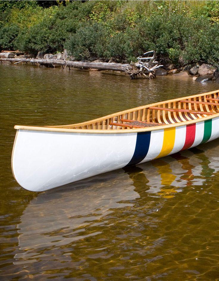 Hudson's Bay Company Multistripe Canoe