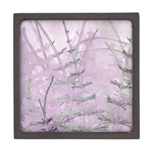 Horsetail Grass/Stems Premium Jewelry Boxes