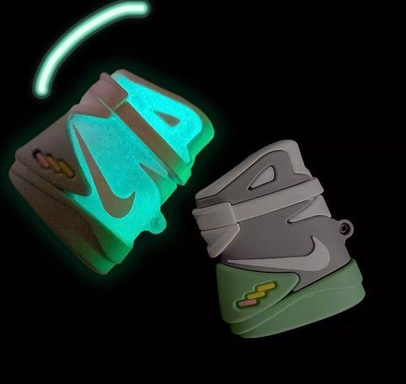 Nike Glow In The Dark Airpods Case Nike Air Mag Airpod Case Case