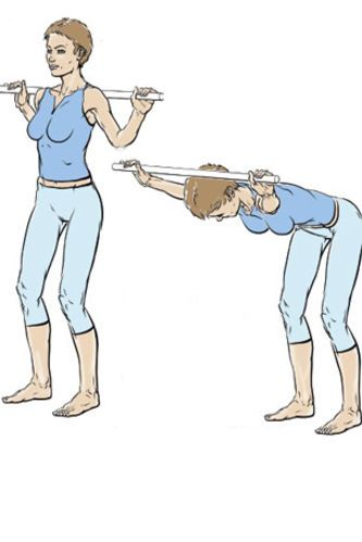 Exercice 3 : galber les épaules