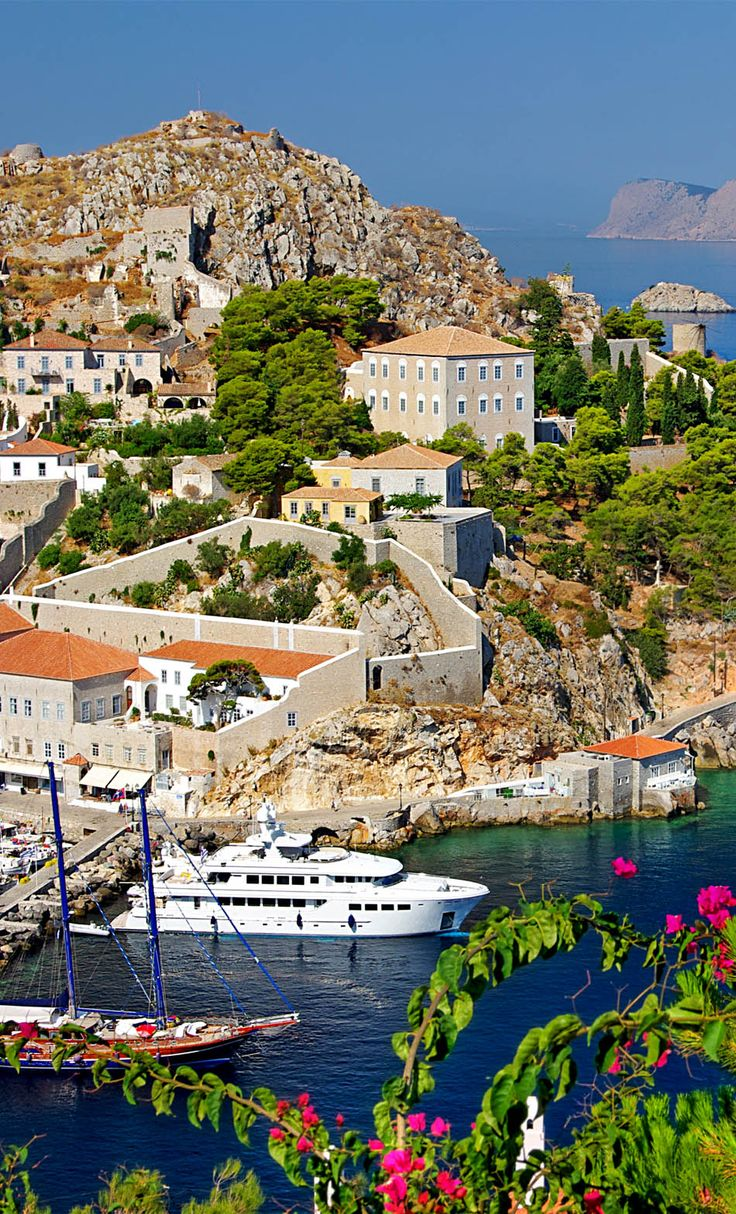 View of Hydra island port, Greece   25 Gorgeous Pictures Of Greece That Will Take Your Breath Away