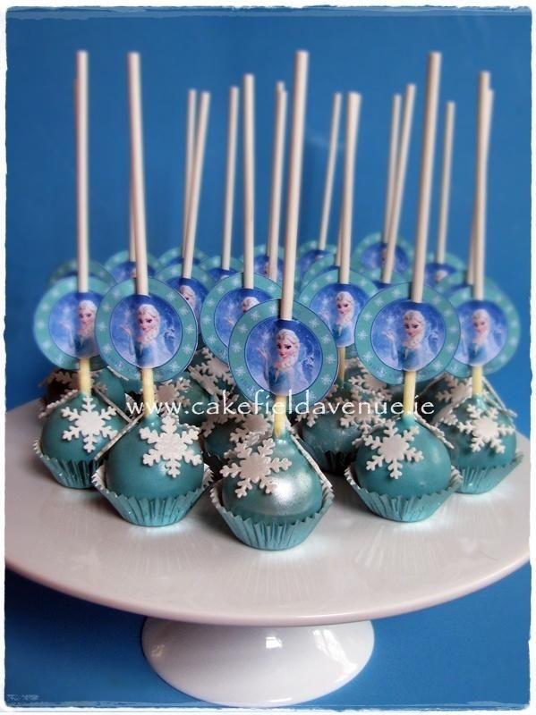 Sophias cake pops...........DISNEY FROZEN CAKE POPS - Cake by Agatha Rogowska ( Cakefield Avenue)
