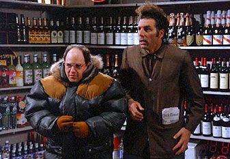 George Costanza and Cosmo Kramer