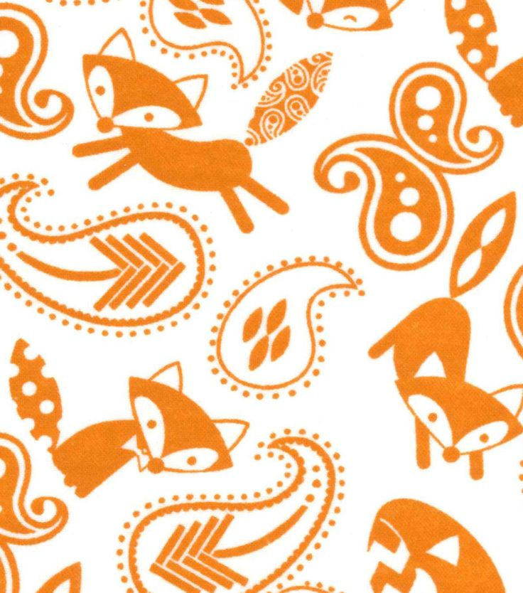 Magic Moon™ Little Fox Flannel Fabric-Topaz