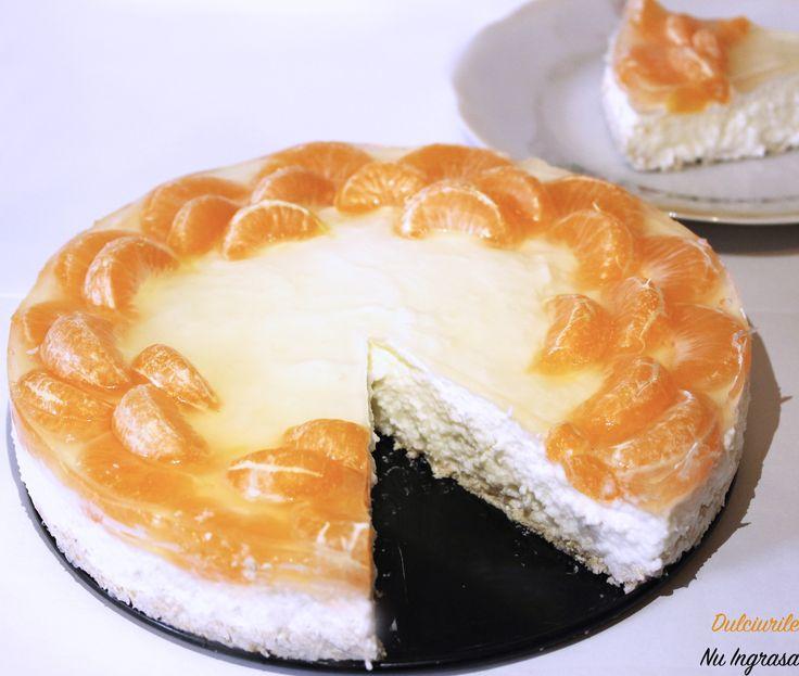 Acest cheesecake este ca o raza de soare in mijlocul iernii. <3  Usor, aromat, gustos si foarte sanatos, a fost exact ceea ce-mi doream.  #farazahar #faragluten #100%sanatos