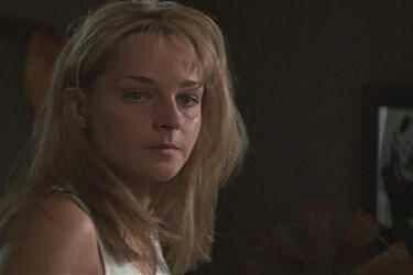 The only time in the movie that Jo is seen crying, with Aunt Meg consoling her.