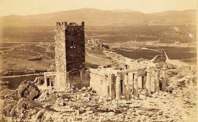 Ο χαμένος Πύργος της Ακρόπολης  Ο Ιερός Βράχος διαφορετικός από ότι είναι σήμερα