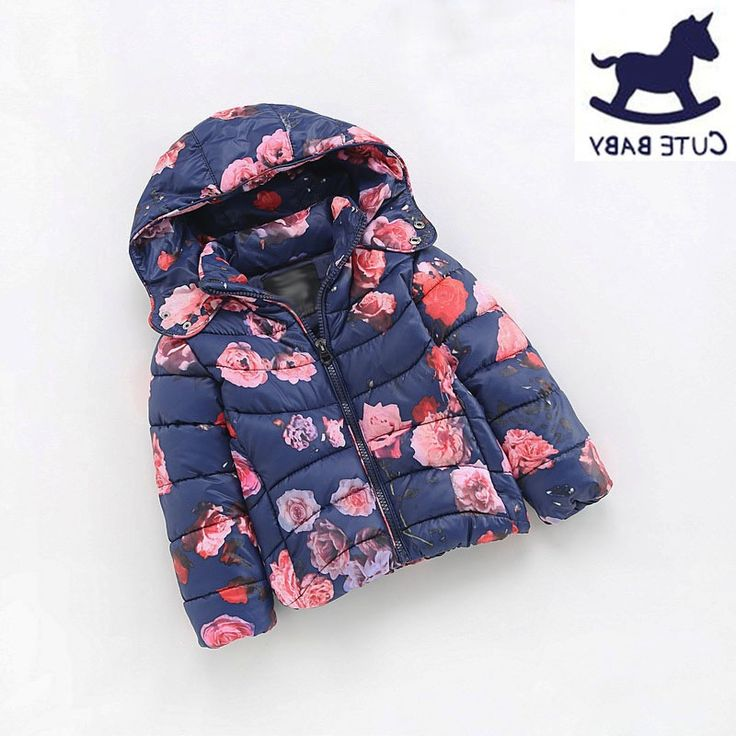 41.66$  Watch now - http://ali819.worldwells.pw/go.php?t=32720540105 - Winter jackets for girls Children's Parkas Girls winter coat Clothing for girls jacket Clothes for baby girls kids 6-7-8-9Yrs