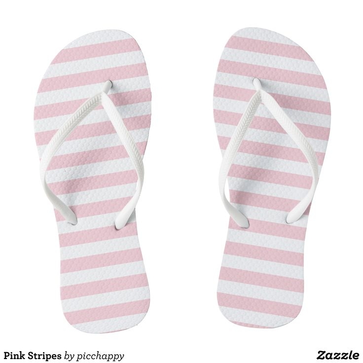 Pink Stripes Flip Flops - Durable Thong Style Hawaiian Beach Sandals By Talented Fashion & Graphic Designers - #sandals #flipflops #hawaii #beach #hawaiian #footwear #mensfashion #apparel #shopping #bargain #sale #outfit #stylish #cool #graphicdesign #trendy #fashion #design #fashiondesign #designer #fashiondesigner #style