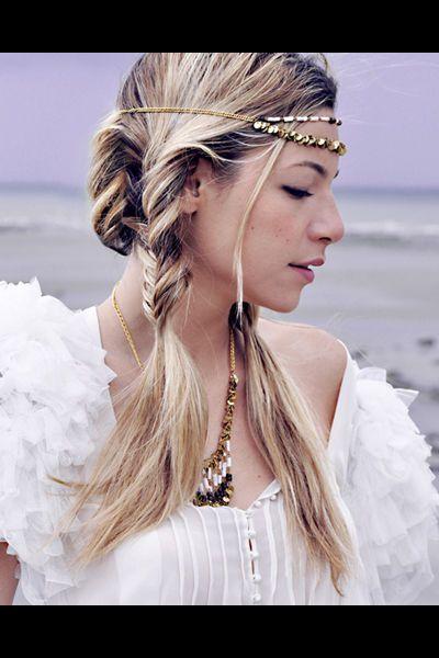 Coiffure mariage tresses indiennes headband libertie is my religion ,  Coiffure de mariage 2013 70