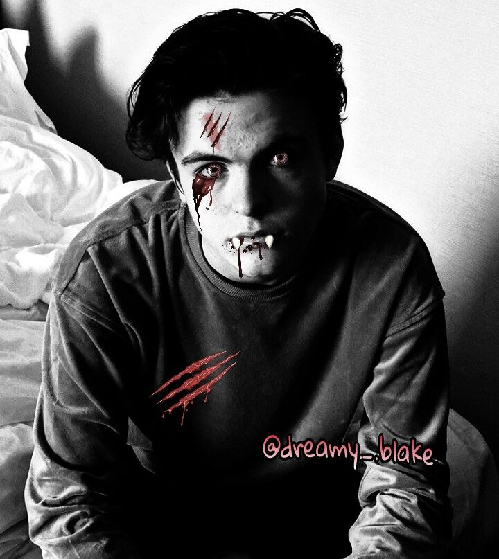 Vampire Blake /Follow me on instagam:@dreamy._.blake/ #BlakeRichardson #Newhopeclub #newhopeblake