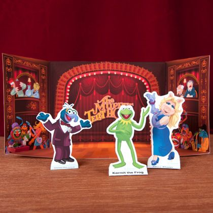 The Muppet Theater Playset | Printables | Spoonful #printable #activity