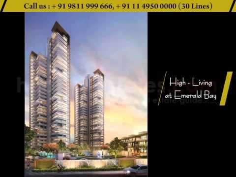 Puri Emerald Bay 2-3 BHK apartments size 1550 - 2450 Sq.Ft.