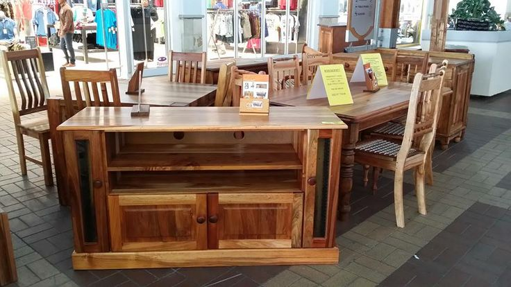Het u al ons meubel uitstalling besoek by die Langeberg Mall? * Have you visited our furniture exhibition yet at the Langeberg Mall? #solidwood #furniture