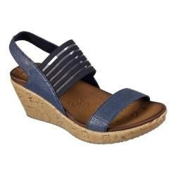 Women's Skechers Beverlee Smitten Kitten Wedge Sandal Navy. Get free delivery at Overstock.com - Your Online Shoes Outlet Store! Get 5% in rewards with Club O!