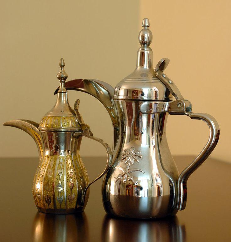 Arabic Coffee Pots by jadewolf42.deviantart.com on @deviantART