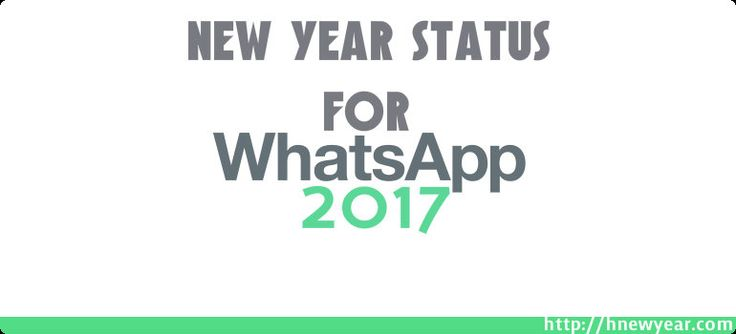 New Year Status for Whatsapp 2017  – Now we are doing to post New Year Status for Whatsapp 2017 Status for you. It's being the best collection of New Year 2017 Whatsapp Status. Looking for the best whatsapp status to make someone smile, feel loved and express your thoughts and …