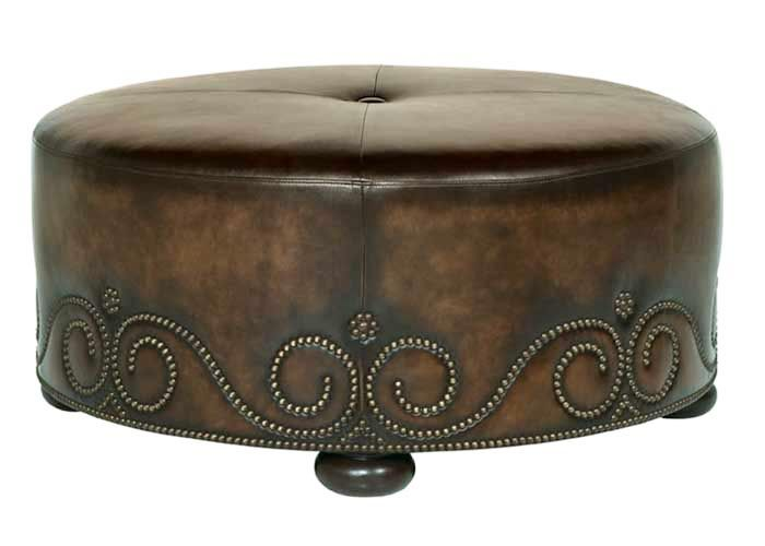 Oval Ottoman Coffee Table