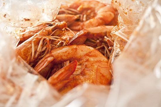 Boiling Crab's The-Whole-Sha-Bang [sauce: butter, bag louisiana shrimp boil, lemon, garlic, cayenne, paprika, lemon pepper, cajun seasoning, old bay seasoning, louisiana hot sauce,