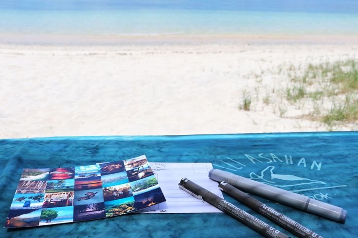 Capture the bliss in a few handwritten words to send home to your loved ones on one of our signature Gili Asahan Postcards. Free for all our guests, you can find these at the restaurant or at the reception where we can also provide stamps upon request 💌🕊 #postcards #shareyourexperience #yourasahanexperience #betterthanasouvenir #beach #souvenir #handwritten #loveletter #paradise #giliasahan #giliasahanecolodge #sarong #logo #pen #beach #sand