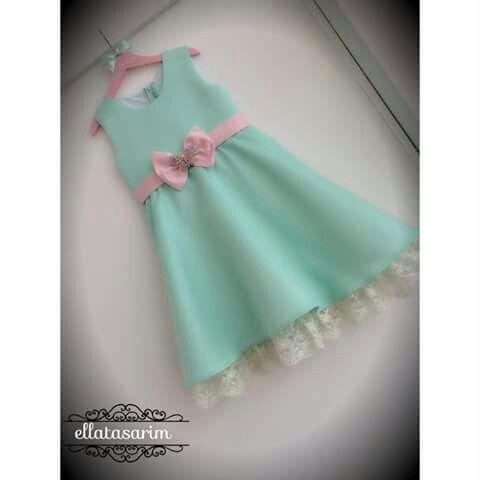 Little mint dress