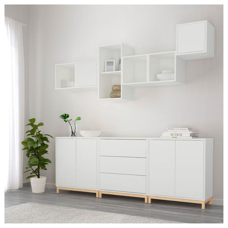 Ikea Eket Cabinet Combination With Legs Home Pinterest