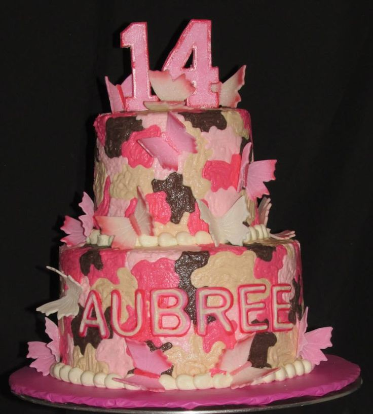 Pink Camo Cake Images : 17 Best images about Cakes - Baby Shower Camo cake on ...