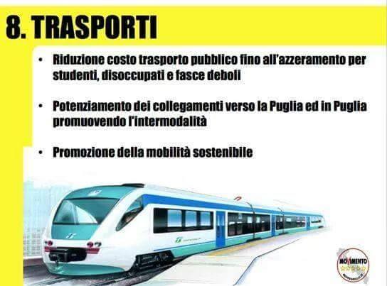 8.Programma Regionale,M5S Puglia 2015.