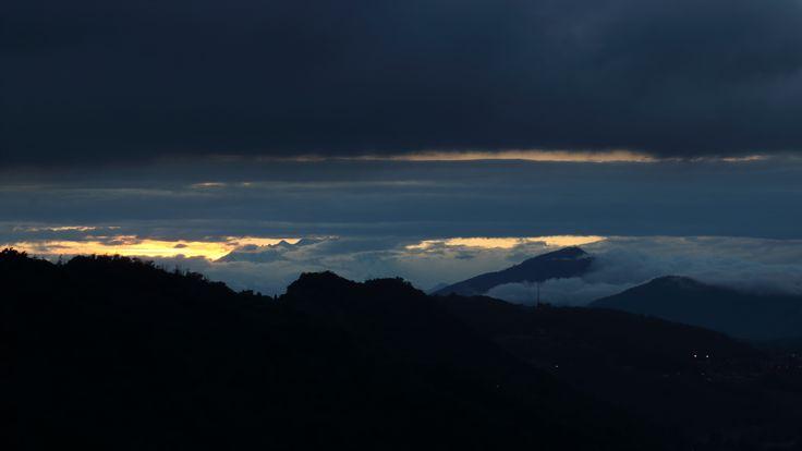 Monte Rosa e Campo dei Fiori da Cardina, Como