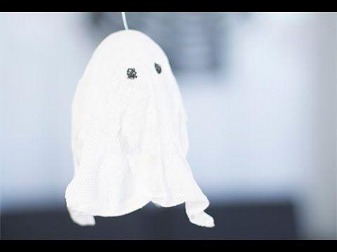 Vous voulez faire plaisir à vos enfants pour leur décoration d' #Halloween sans vous ruiner ? Ce petit #fantome en suspension fait partie de nos préférés !