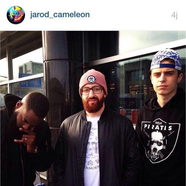 @jarod_cameleon à #MTL avec un t-shirt #ldnp !  #paris19 #montreal #leschosessepassentafond #parisiensdemontreal #streetwear #tshirt #rap #urban #clothing #from #paris