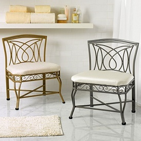 Chairs Vanity Stool And Decor On Pinterest