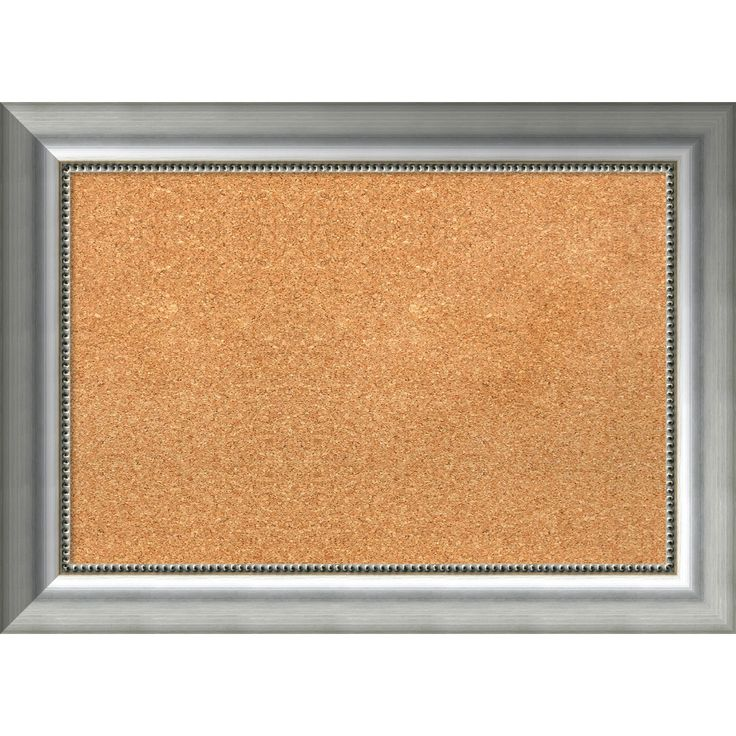 amanti art framed cork board vegas burnished