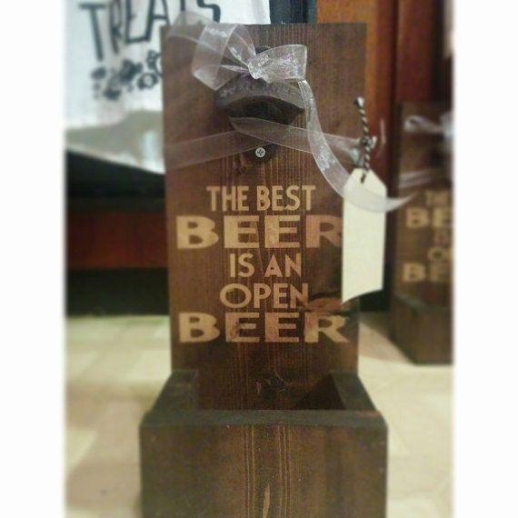 Beer Opener with Cap Catcher Beer Opener by TheHonestAsparagus