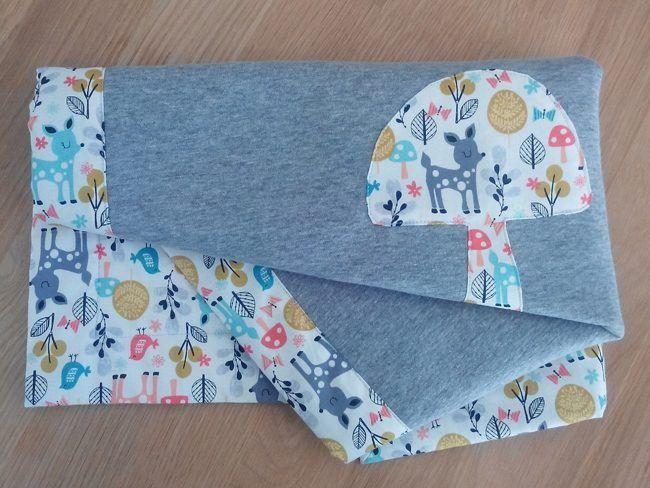 DIY : une couverture pour bébé avec Craftine.com