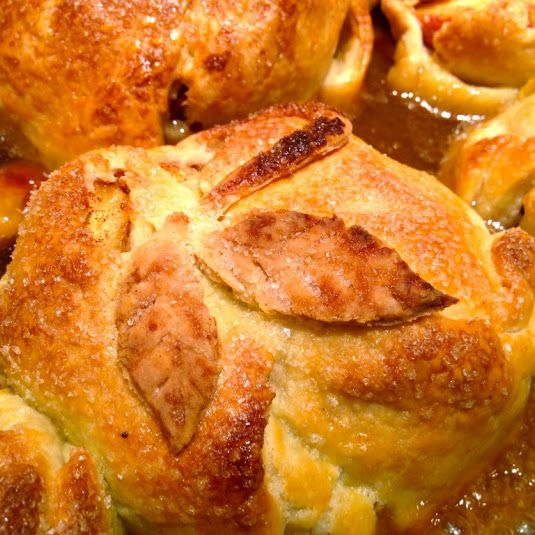 Old Fashioned Summer Peach Dumplings