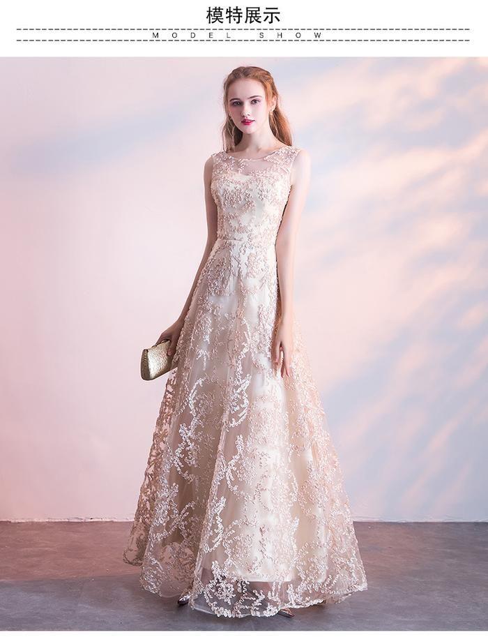 2652448014414 Dinner Dress Spring Elegant Elegance Dignified Atmosphere Long Party ...